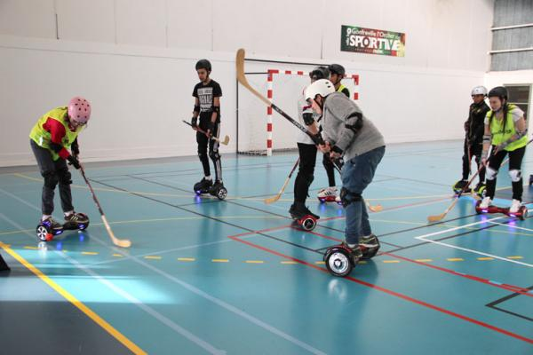 Initiation sur hoverboard